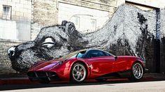 awesome Pagani sports car Wallpaper
