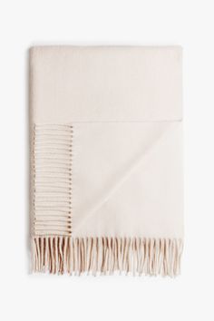 Acne Canada scarf in nude beige