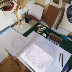 D R A W// an afternoon of drawing out  #wip #commission #papercutart #papercutting #papercut #paper #papercutartist #etsy #etsyseller #smallbusiness #mumboss #smallbiz #text #plans #drawing #drafting #workspace #studio #deskie #artstagram #art #artwork #sketch
