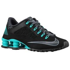 Nike Shox Superfly R4 - Women's - Black/Hyper Turquoise/Dark Grey