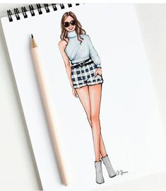Sketches Runway Fashion, Diy Fashion, Trendy Fashion, Fashion Dresses, Fashion Trends, Fashion Design, Womens Fashion, Fashion Illustration Dresses, Fashion Sketches
