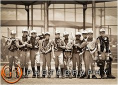 baseball, little league, team photo