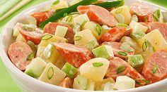 Receita de Salada de batata com salsicha: como preparar