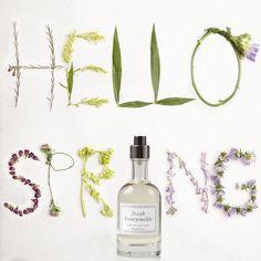 Welcome warmer weather with Honeysuckle Eau de Parfum.