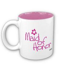 Maid of Honor (Design 1) - Mug