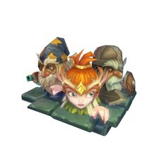 Character - Micro Hero Set - Low Poly 3D Model