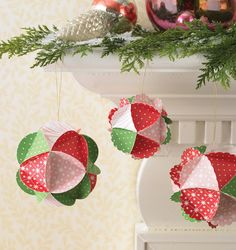 martha stewart christmas crafts | Martha Stewart Crafts - Holiday - Paper Kit - Ornament, CLEARANCE