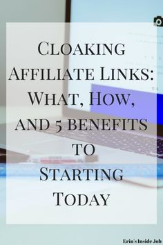 Cloaking Affiliate Links-What, How, and 5 Benefits to Starting Today!