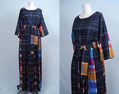 Vintage Marimekko Dress Window Ping Scandinavian Outfits 1970s Blouses