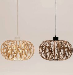 Ribbon, the sculptural pendant #lamp by MARK Product