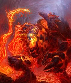 Cherufe- Mapuche myth: a giant monster composed of rock and lava that controlled…