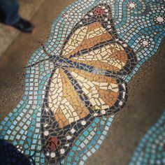 Mosaic Butterfly | Tumblr