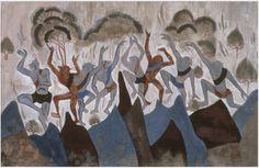 Zhang Hongtu, 'Dunhuang Study No. 7,' 1981, China Institute Gallery