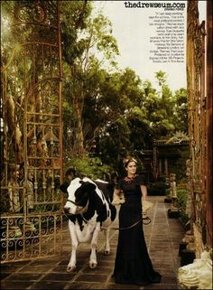 This whole thing <3 Drew Barrymore Vogue Feb 2006