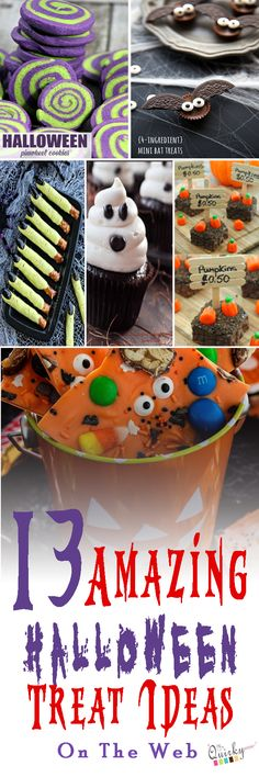 I'm sharing some Halloween treat (cookies) ideas. Those ideas will help you to choose the special cookies for Halloween treat. Halloween Baking, Halloween Goodies, Halloween Food For Party, Halloween Desserts, Diy Halloween Decorations, Halloween Treats, Fall Halloween, Happy Halloween, Halloween Stuff