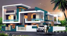 These Best Two Story Home Designs are very popular nowadays, because of its simplicity and beauty. Elegance and simplicity must come to the fore. In addition to well-chosen material for building and making furniture, it is very important and the layout of the rooms, then good lighting and the large windows.