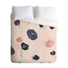 Floating Flowers Duvet Cover