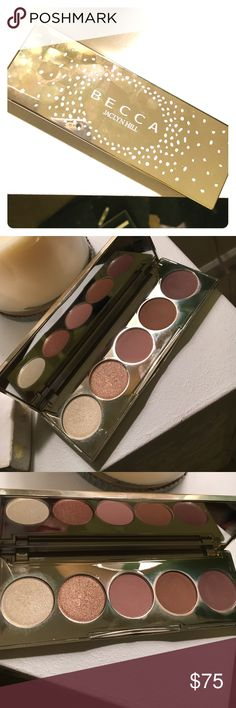 LIMITED Becca Jaclyn Hill eyeshadow Champagne Glow Five gorgeous shades including champagne toast. Authentic - purchased from Sephora. BECCA Makeup Eyeshadow