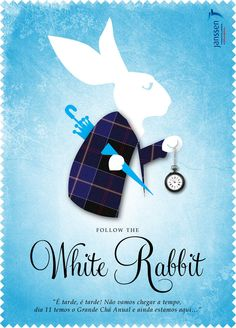 Follow the White Rabbit  Teaser and Invitation for Corporate Xmas Party