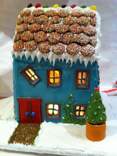 gingerbread house ideas easy - Google Search