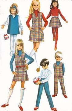 1960s Sewing Pattern Vintage Simplicity 7785 Childs by sandritocat, $6.00