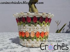 Image result for edinir croche cachepoo