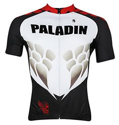 QinYing Dragon Scales Patterns Mens Outdoor Sports Short Sleeve Cycling Jersey XL -- Find out more about the great product at the image link.