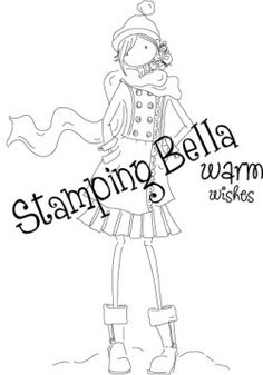 "Stamping Bella ""with warm wishes"" no idea on the cost"