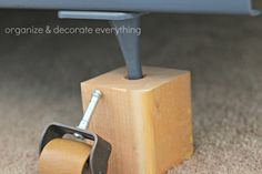 17 Best Bed Riser Images Bed Frame Risers Diy Bed Risers Furniture