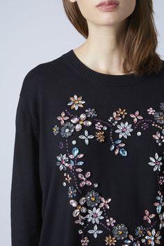 Photo 5 of Embellished Heart Sweater