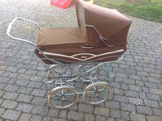 Peg Perego, Prams, Vintage Italian, Yellow And Brown, Baby Strollers, Dolls, Retro, Children, Baby Prams