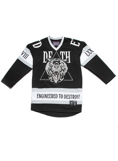 f5c38a25d Lamour Supreme  Death Adder Hockey Jersey (Black)
