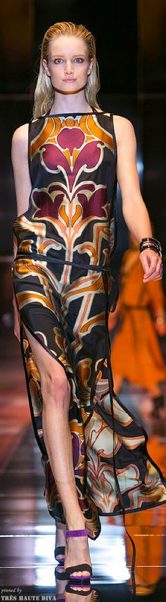 Milan FW Gucci Spring/Summer 2014 RTW http://www.nytimes.com/fashion   The House of Beccaria