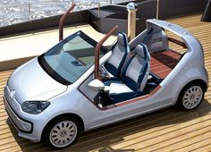 volkswagen up! and new small family concept cars - designboom | architecture & design magazine