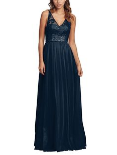 Take a look at this gorgeous Amsale Sora bridesmaid dress in navy blue fabric! Available in sizes and tons of colors at Brideside. Shop online, try at home or visit one of our showrooms! Amsale Bridesmaid, Navy Blue Bridesmaid Dresses, Bridesmaid Dress Styles, Prom Dresses, Wedding Dresses, Gown Drawing, Fashion Dresses, Sora, Blue Fabric