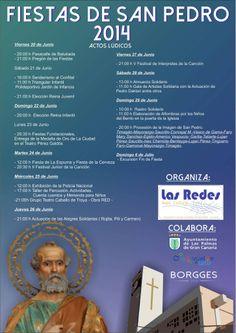 Programa de Fiestas de San Pedro 2014