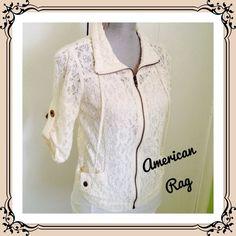 American Rag Jackets & Blazers - American Rag Lace Jacket