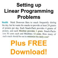 Do your students struggle with setting up linear programming problems? Here's a handy list of steps that will help. Math Teacher, Teaching Math, Teacher Stuff, Linear Programming, Precalculus, Maths Algebra, 8th Grade Math, Trigonometry, Math For Kids