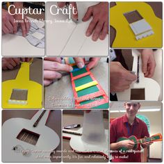 Cuptar sounds and has all the crucial elements of a real guitar. Reading 2014, Teen Library, Reading Themes, Teen Summer, Library Programs, Building For Kids, After School, School Projects, Libraries