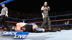 The Lone Wolf Baron Corbin is out to prey on Jack Swagger on WWE SmackDown Live....