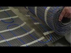 Her kan du se hvordan du enkelt legger varmekabler og varmematter.