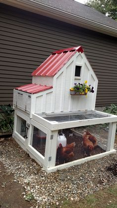 My version of the small chicken coop | Do It Yourself Home Projects from Ana White