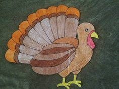Lesson Plans of an OCD Primary Chorister: Thanksgiving Turkey