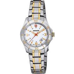 ed8d53bee9e Relógio Wenger Ladies Two Tone Swiss Made Watch W70496  Relógio  Wenger  Alpine White