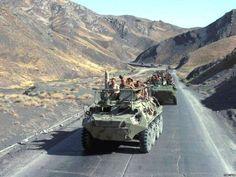 Soviet Mechanized Infantry During Afghanistan Intervention