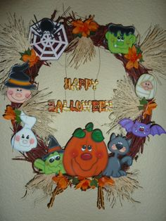 halloween wreaths halloween bags halloween prop crazy holiday seasonal decor halloween gourds wood fall season