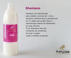 Confere brilho e luminosidade ao cabelo seco e espigado, não retirando o trabalho técnico, pintado ou com alisamento, EFEITO LISO.Modo de utilização: Aplicar nos cabelos molhados massajar, enxaguar até retirar o completamente o champô.