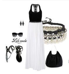 LOLO Moda: Top & skirt