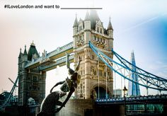 #ILoveLondon and want to visit all the top London attractions  Re-pin and share with your friends and family to see what they love about London, too.  Don't forget, you'll be in with a chance of winning an exclusive London package…