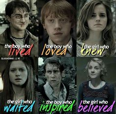 The boys and girls of Harry Potter                                                                                                                                                      More